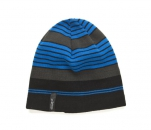 czapka z dzianiny zimowa LATERAL BEANIE, kolor niebieski rozmiar uniwersalny